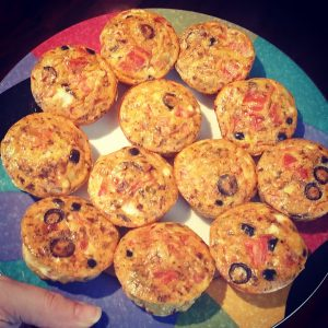 paleo breakfast pizza egg cups