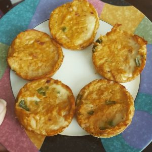 paleo spicy tuna cakes egg muffin tin